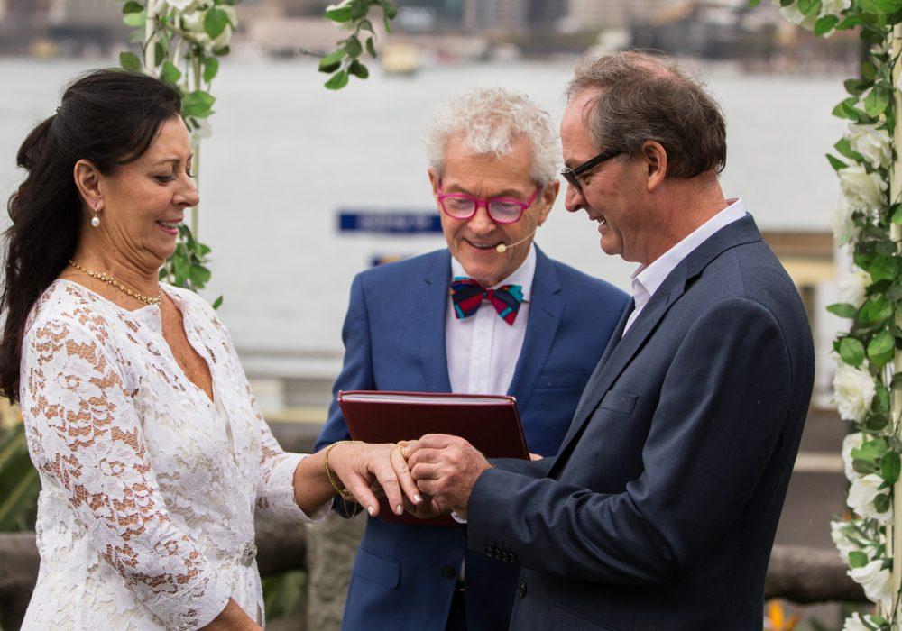 Martin Moroney Marriage Celebrant North Shore Sydney
