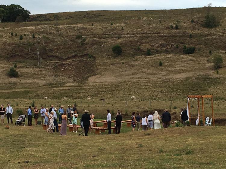 Corndale Wedding in Northern Rivers NSW